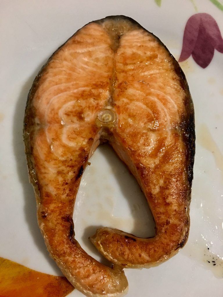 Salmone cotto